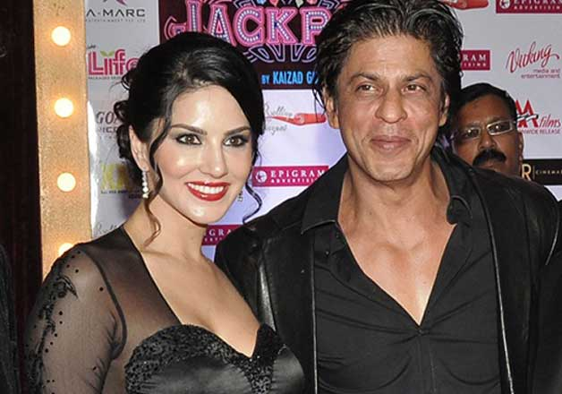 Shah Rukh Khan and Sunny Leone