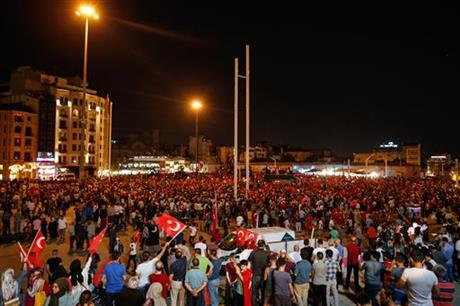 Forces loyal to Turkish President Recep Tayyip Erdogan