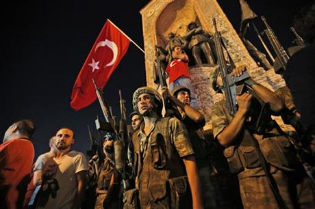 Those responsible for coup will have to pay, says Turkey