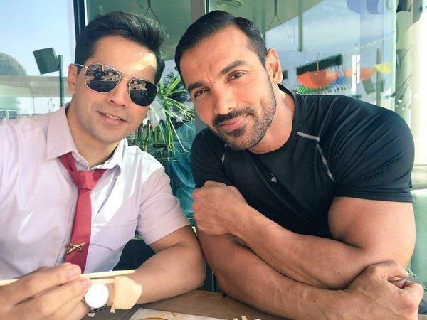 India Tv - John-Varun's bromance