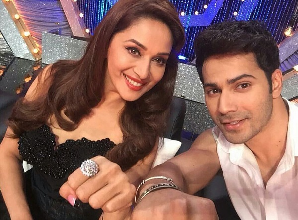 Madhuri Dixit tells how Varun Dhawan was as a child