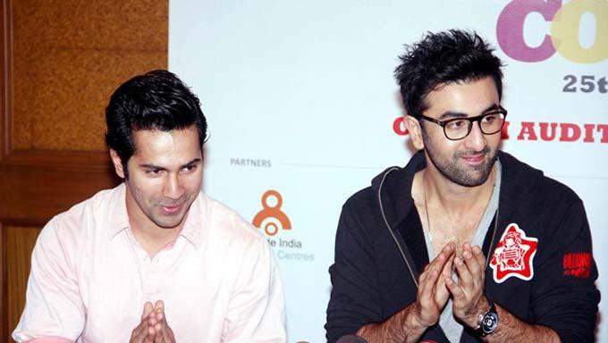 Ranbir Kapoor taught a life mantra to newbie Varun Dhawan