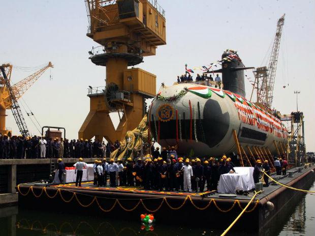 Scorpene class submarine INS Kalvari