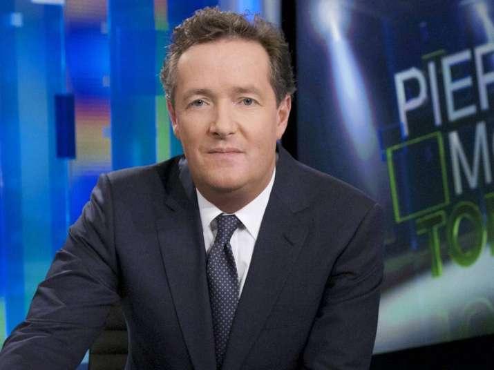 British journalist Piers Morgan