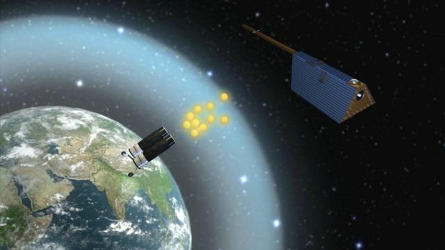 China's satellite project- India TV
