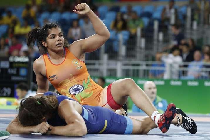Wrestler Sakshi Malik