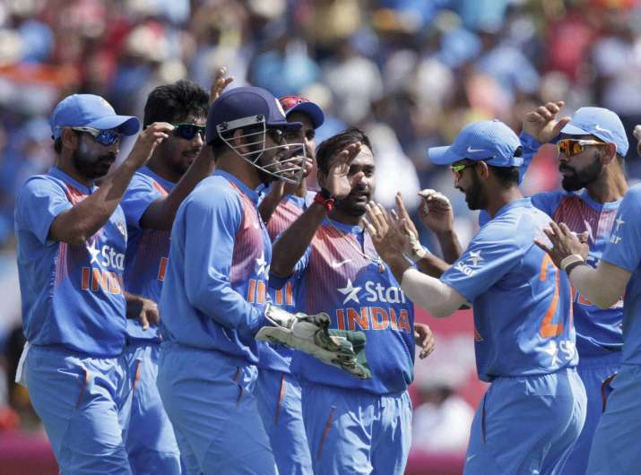 India restricts WI at 143, Amit Mishra bags three wickets