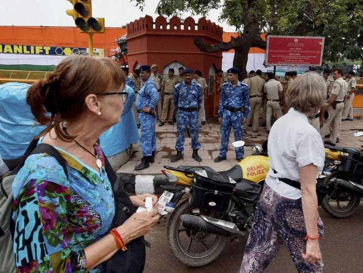 Unprecedented security cover around Red Fort