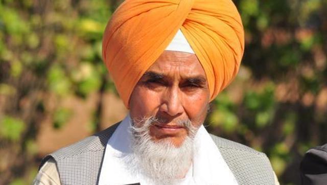 Aam Aadmi Party's Punjab convener Sucha Singh Chhotepur  