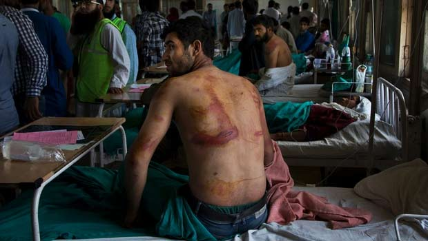 Sameer Ahmed, who was allegedly beaten up soldiers