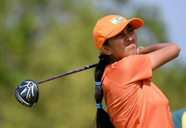 Indian lone teen golfer Aditi Ashok