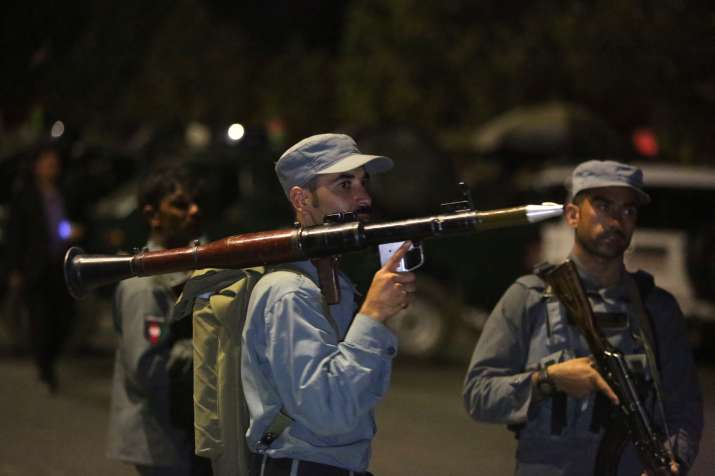 militant attack University in Afghan capital