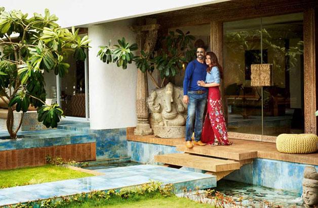 Inside pics of Akshay Kumar and Twinkle Khanna's house