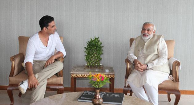 PM Modi inspires Akshay Kumar