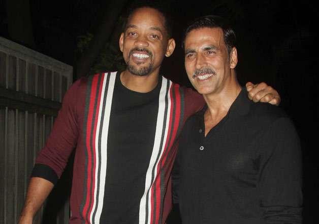 Will Smith celebrates Akshay's 'Rustom' success