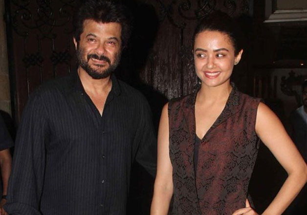 Surveen Chawla with Anil Kapoor in 24