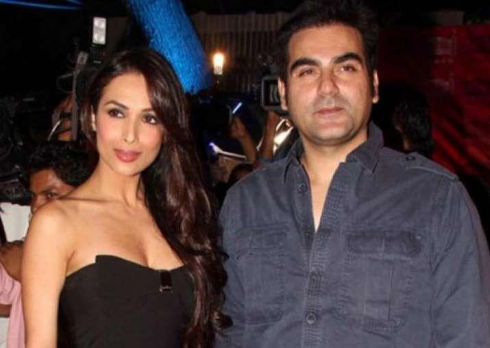 Arbaaz Khan with Malaika Arora