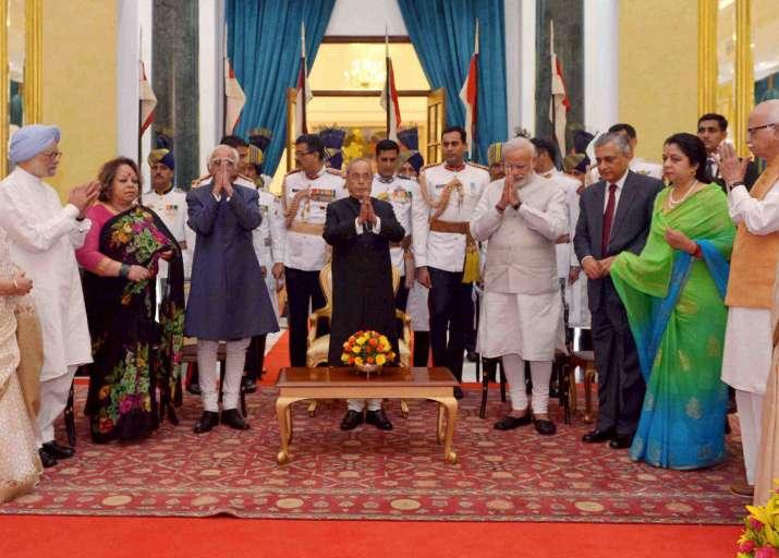 President Pranab Mukherjee hostes At Home function
