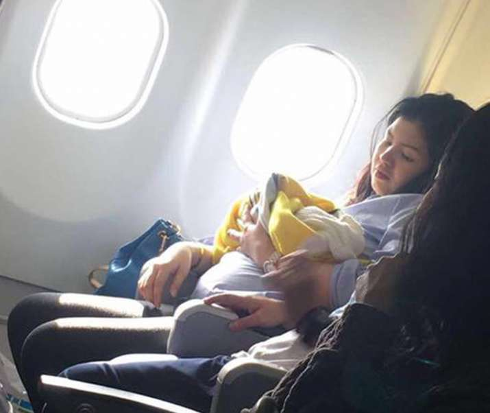 Cebu Pacific Baby girl Haven