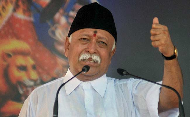 Mohan Bhagwat lauds surgical strike by Indian Army