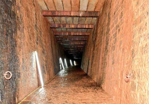 Maharashtra Governor discovers British-era tunnel inside