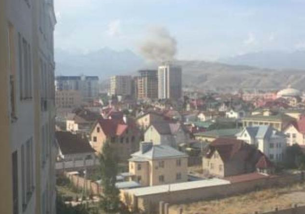 Several dead in explosion near Chinese embassy in Kyrgyzstan
