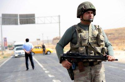 Police in Cizre, Turkey