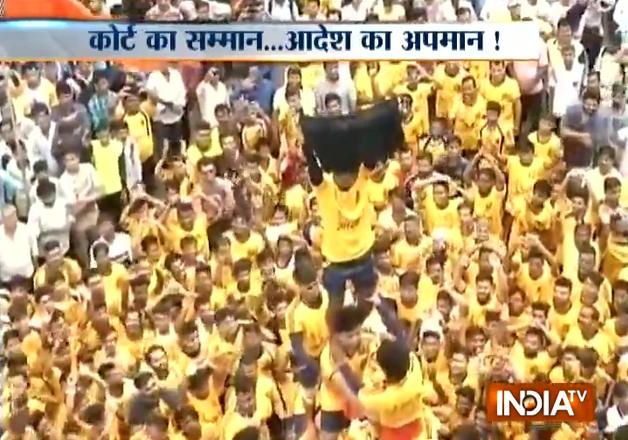Raj Thackeray's MNS openly defies SC ruling on Dahi Handi