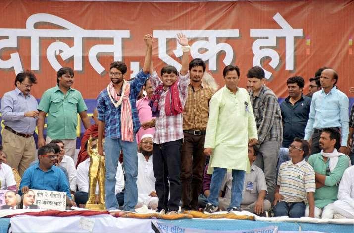 Dalit rally in Una