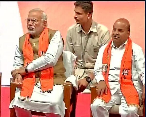 Gehlot with PM Modi