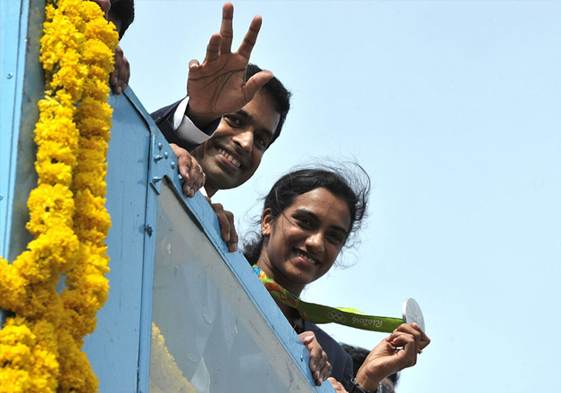 Pullela Gopichand and PV Sindhu