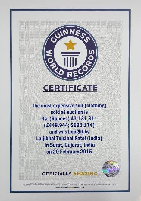 India Tv - Guinness Certificate