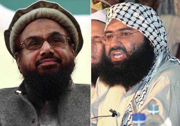 Hafiz Saeed and Masood Azhar
