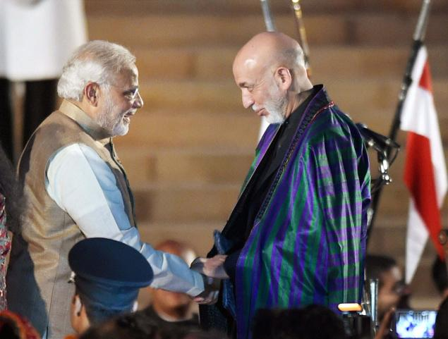 Hamid Karzai and PM Modi | India TV