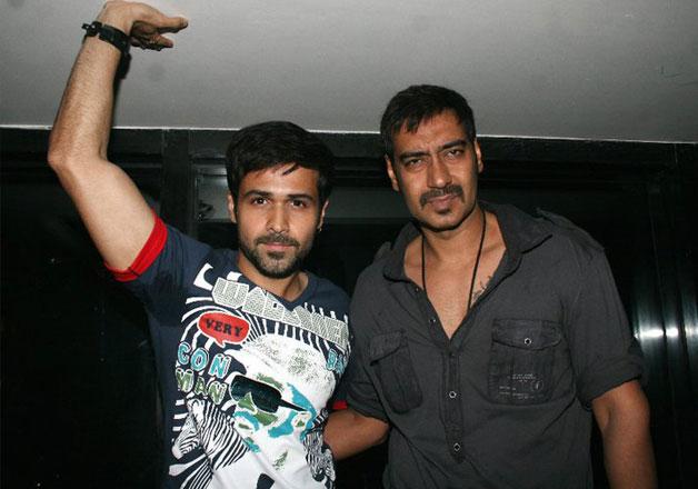 Ajay Devgn and Emraan Hashmi