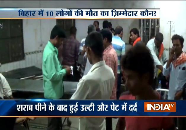 10 die after consuming illicit liquor