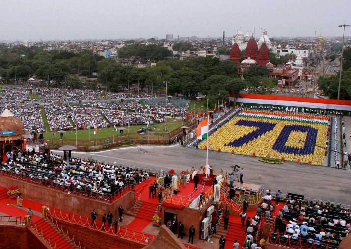 India's Independence Day at Red Fort