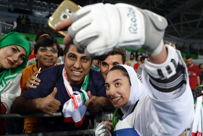India Tv - First Iranian Olympic medalist