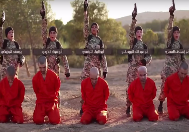 Sickening! New ISIS video shows minors shooting Syrian