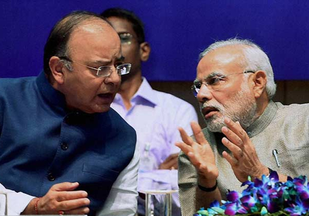Image result for arun jaitley with modi