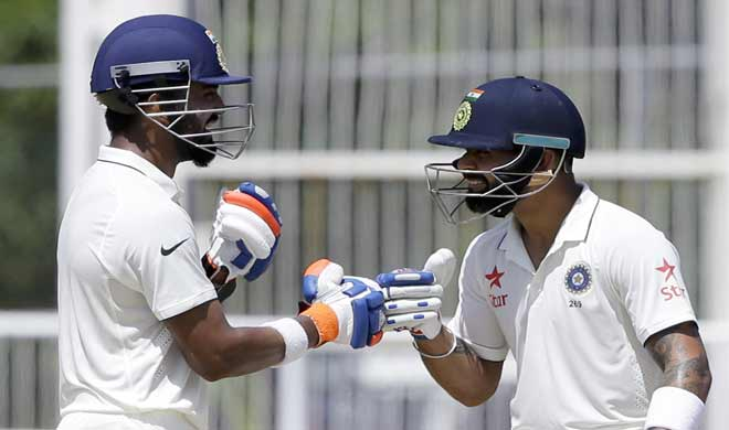 India dominate hosts as KL Rahul smashes career-best 158