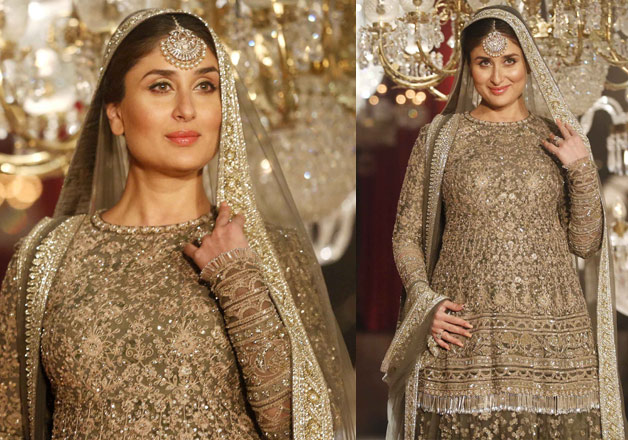 Kareena Kapoor walks the ramp with her 'baby' for the