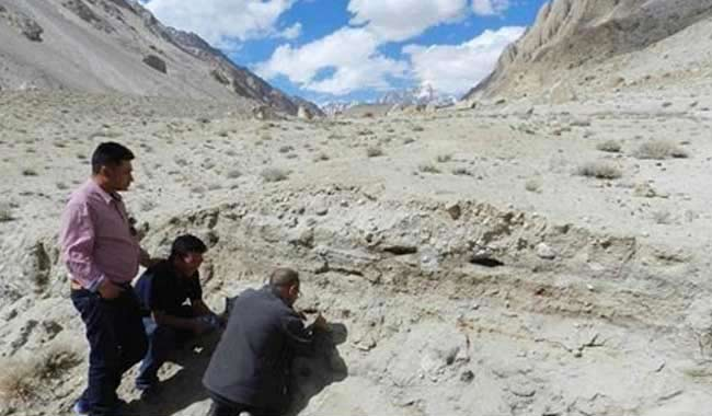 ASI discovers 10,500-year-old camping site in Ladakh