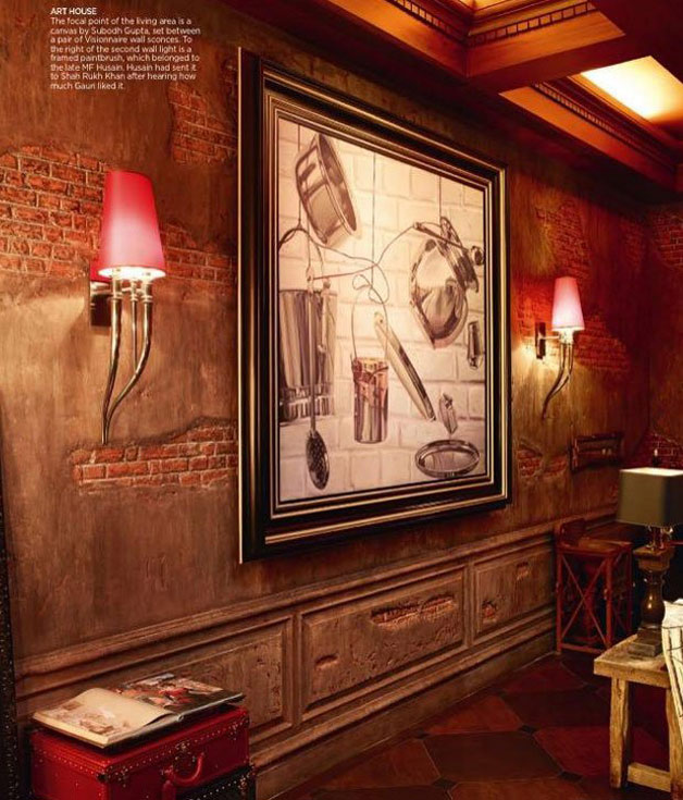 Check out the inside pics of Shah Rukh Khan's luxurious ...