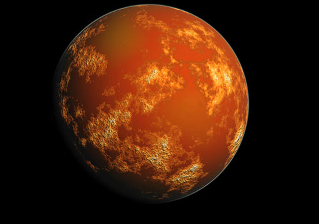 Fossilised riverbeds on Mars suggest it once had a warm,