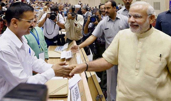 PM Modi with Delhi CM