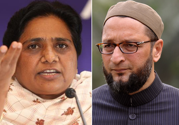 Mayawati and Asaduddin Owaisi