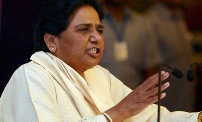 Mayawati's attack on BJP: Party depending on BSP's