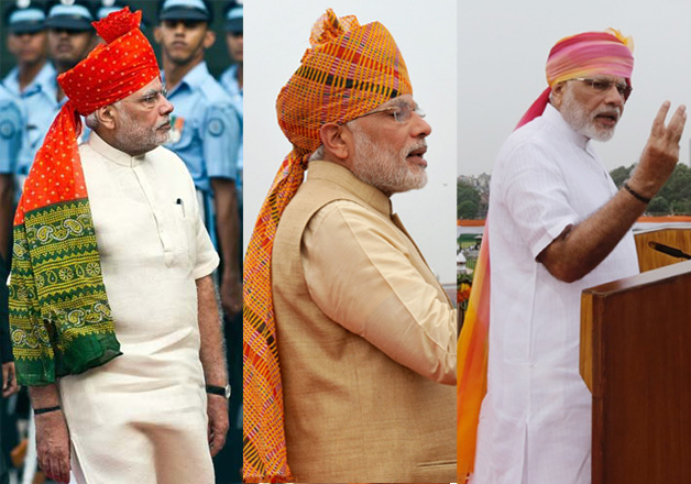 PM Narendra Modi on Independence Day