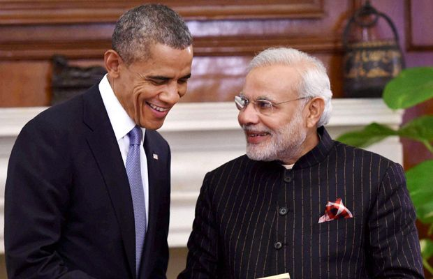PM Modi wearing the monogrammed suit
